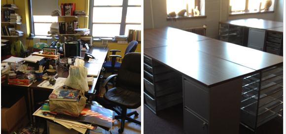 Organizing Success Story – Boston School Teacher Office